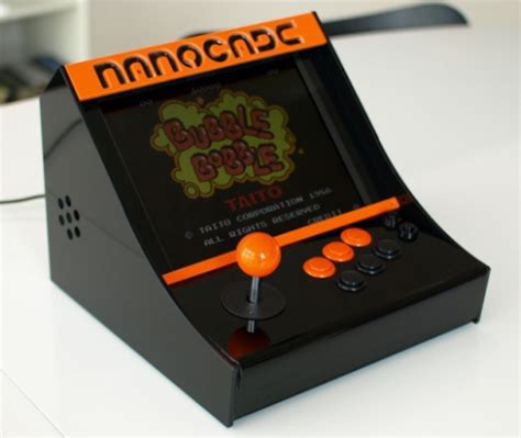 nanocade diy kit for turning a netbook nettop into a mame