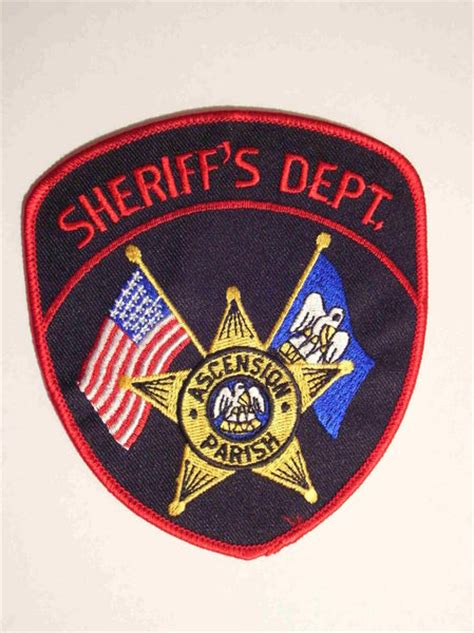 ascension parish sheriff office sheriff and patches