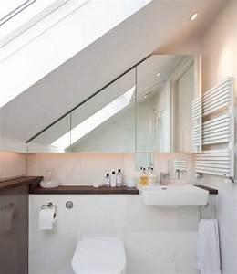 Kleine Küche Mit Schräge : kleines badezimmer mit schr ge ~ Markanthonyermac.com Haus und Dekorationen