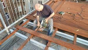 Entkopplungsmatte Auf Holz Verlegen : roof deck terrassenbau in 3 tagen ~ Markanthonyermac.com Haus und Dekorationen