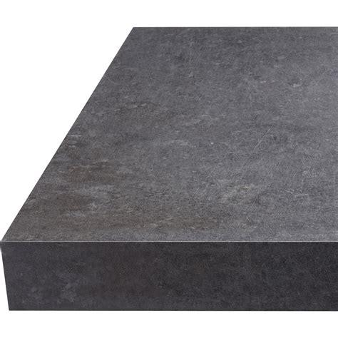 plan de travail droit stratifi 233 b 233 ton gris 315 x 65 cm 233 p 38 mm leroy merlin
