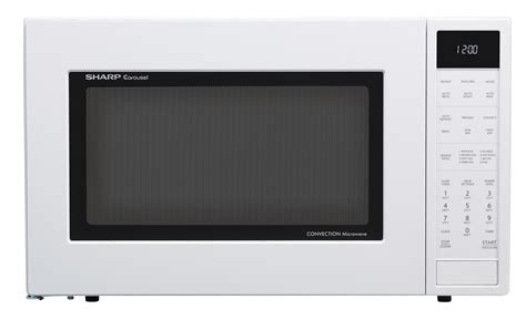 SMC1585BW 15 Cu Ft White Convection Microwave SHARP