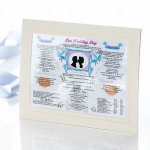 14th Anniversary (Ivory) Wedding Day Chart | The Gift ...
