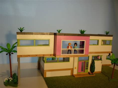 playmobil modern house extension house modern