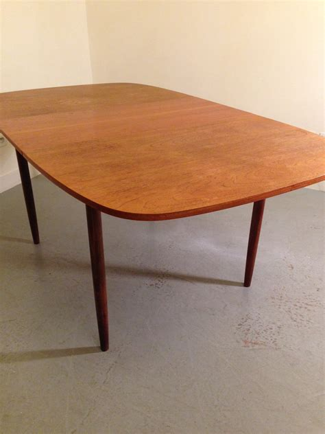 general store 187 table 224 manger 224 rallonges vintage 1960 s table 224 rallonges vintage par g
