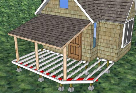 building cabin deck time lapse solar burrito