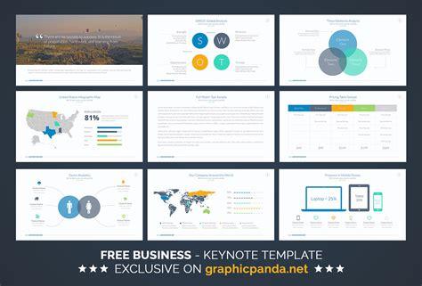 Free Business Keynote Template On Behance