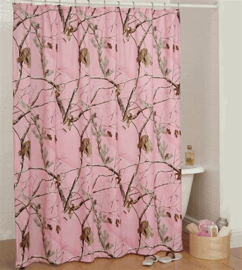 Pink Camo Bathroom Decor pink camo bathroom decor realtree ap pink shower curtain