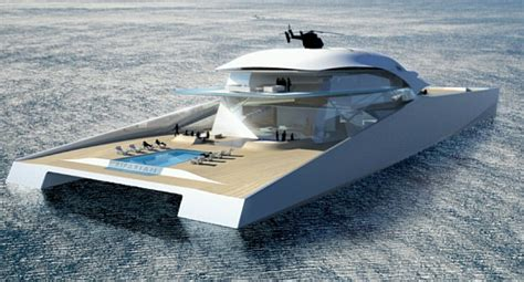 Huge Catamaran Yacht by Concept Yachts To Sail You Through Environmental