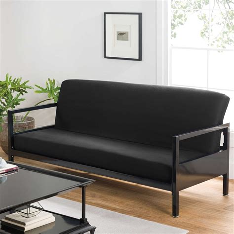 futon covers modern black soft cotton bed sofa
