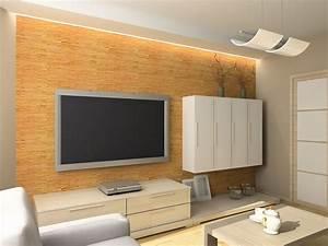 Indirekte Beleuchtung Fernseher : indirekte beleuchtung an der tv wand wohnzimmer pinterest tv w nde indirekte beleuchtung ~ Markanthonyermac.com Haus und Dekorationen