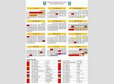 Kalender Pendidikan Jawa Timur 20162017 excel MADING