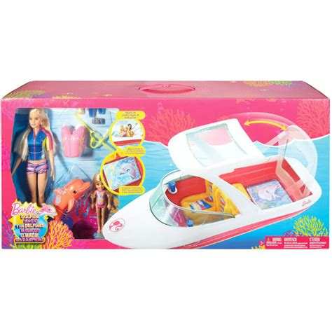 Barbie Dolphin Magic Ocean View Boat by Barbie Dolphin Magic Ocean View Boat Set A Solo 33 99 En