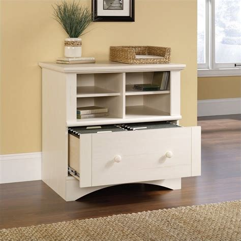 harbor view collection 1 drawer lateral wood file antique