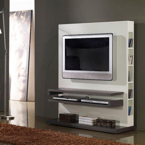 meuble tv design gris et blanc laqu 233 salons tvs and tv walls