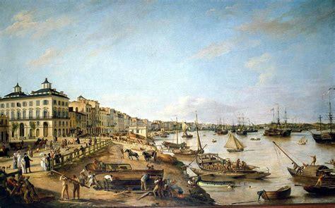 vue d une partie du port et des quais de bordeaux dit les chartrons et bacalan l histoire