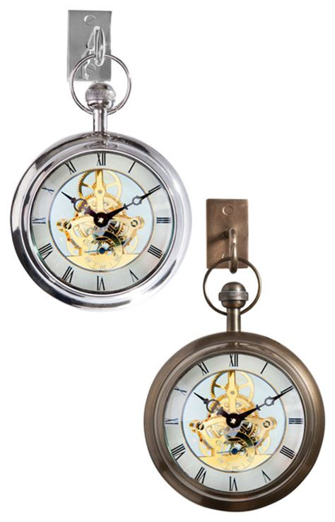 Barbara Cosgrove Ls by Clock With Hook Nickel Wall Clocks Other By Barbara