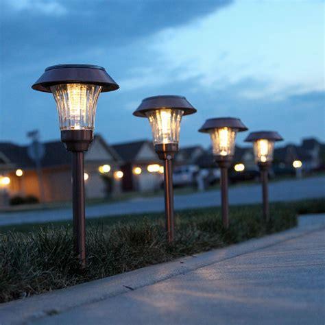 outdoor solar lights lights solar solar landscape warm white copper