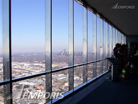 observation deck windows jpmorgan tower houston