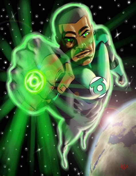 stewart from dc comic s green lantern may be cast in justice league new universe