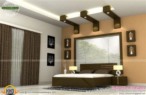 Interiors Of Bedrooms And Kitchen-kerala Home Design And