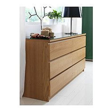 malm commode 6 tiroirs plaqu 233 ch 234 ne blanchi malm ikea and drawers