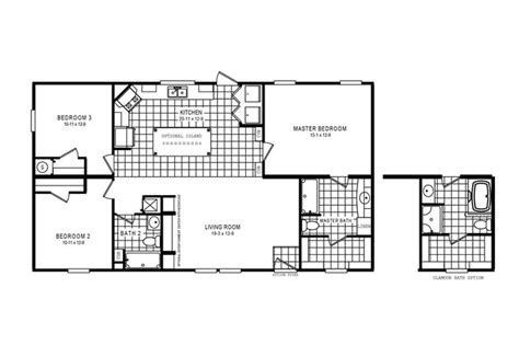 clayton home floor plan manufactured homes modular homes mobile homes small house plans