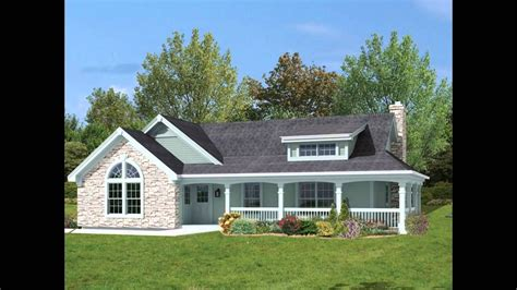 Home Design With Wrap Around Porch : Ranch Style House Plans With Basement And Wrap Around Porch