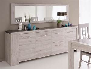 Sideboard Für Esszimmer : sideboard und spiegel marten 22 grau steinoptik 230x87x55cm wohnzimmer wohnbereiche esszimmer ~ Markanthonyermac.com Haus und Dekorationen