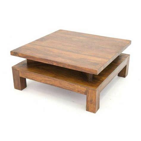 table salon contemporaine bois