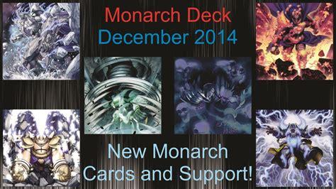 yu gi oh monarch deck profile december 2014 gameplay doovi