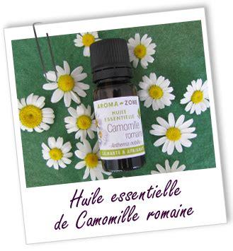 huile essentielle de camomille romaine aroma zone