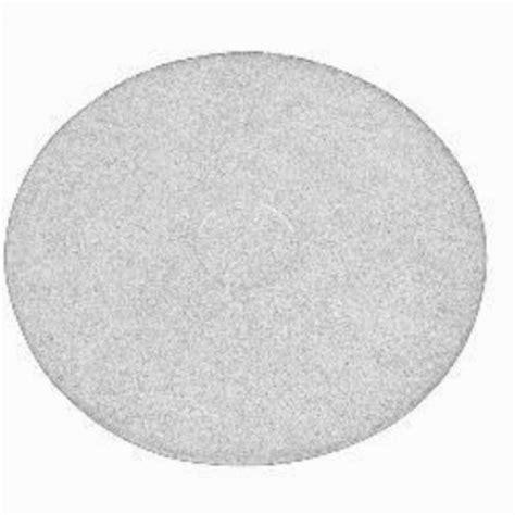 white floor pads 20 quot floor buffer polisher