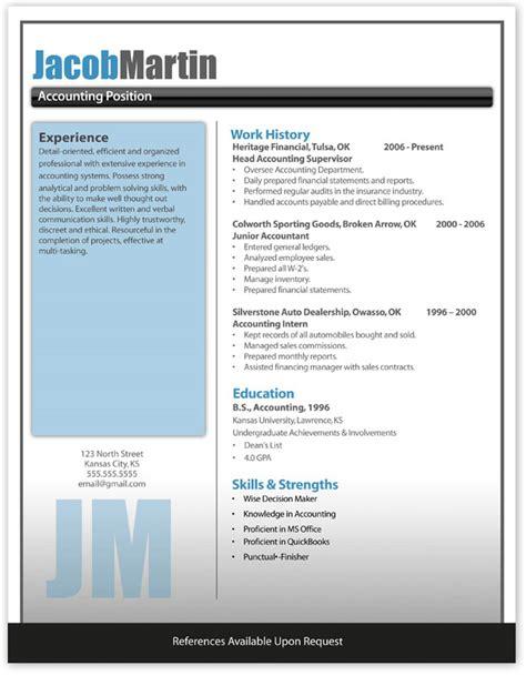 free modern resume template 10 free resume templates