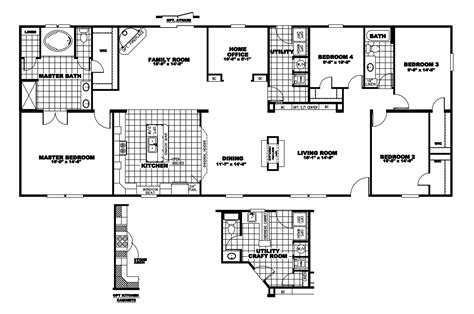 Clayton Mobile Home Floor Plans Photos by Manufactured Home Floor Plan 2009 Clayton Della