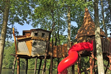 cing holidays treehouses in family holidays in tournan en brie ile de