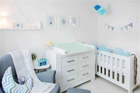 Babyzimmer Hellblau Grau Mummyandminicom