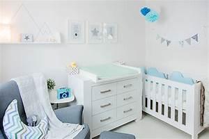 Farben Für Babyzimmer : babyzimmer hellblau grau ~ Markanthonyermac.com Haus und Dekorationen