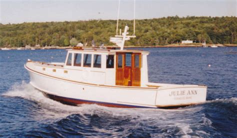 John S Bay Boat by John S Bay Boat Lobsteryacht 39 Flyingbridge Power Boat