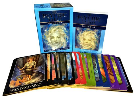 the psychic tarot oracle deck collection box gift set mind