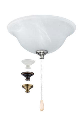turn of the century led white marble ceiling fan light kit at menards 174