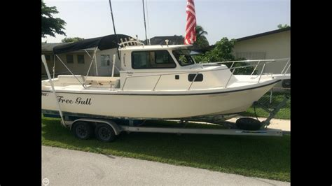Parker Boats 25 Review by Sold Used 1994 Parker 25 In Palmetto Bay Florida Youtube