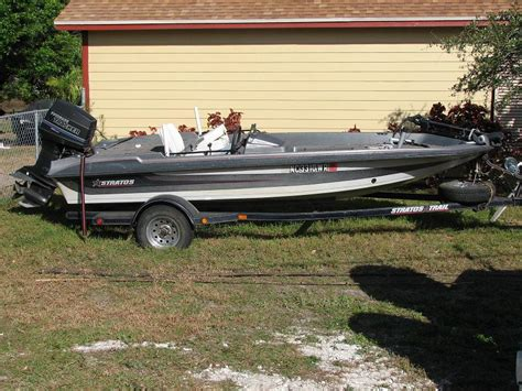 Stratos Boats Hull Truth by 1990 16 Stratos Bass Boat Motor Trailer The Hull Truth