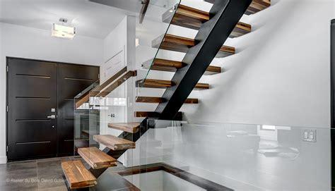 escalier en verre et en 28 images escalier m 233 tal et garde corps mezzanine avec verre