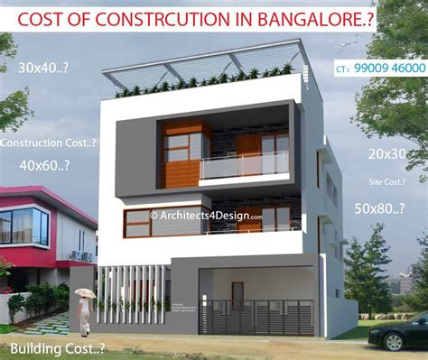 Cost Of Construction In Bangalore Know Residential Cost Of
