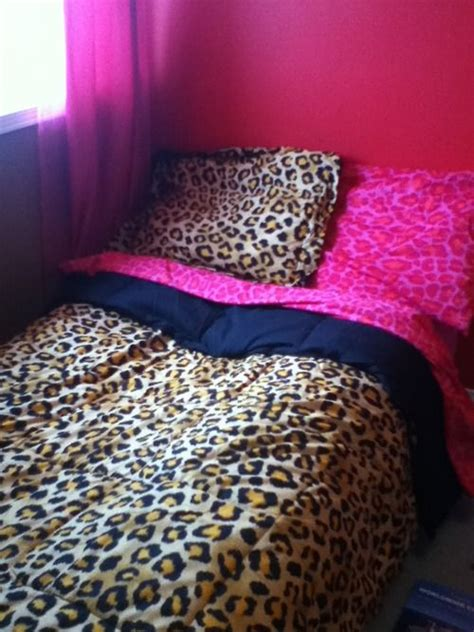 25 best ideas about leopard print bedding on