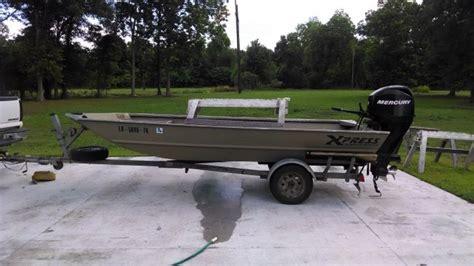 Xpress Boat Dealers In Baton Rouge by 2004 Xpress 1650 Flat Jon Boat For Sale In Baton Rouge