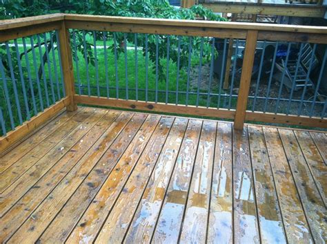 cabot deck stain in wood toned cedar after a best deck stains