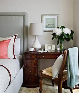 Schreibtisch Im Wohnzimmer : 30 moderne schlafzimmer ideen ~ Markanthonyermac.com Haus und Dekorationen