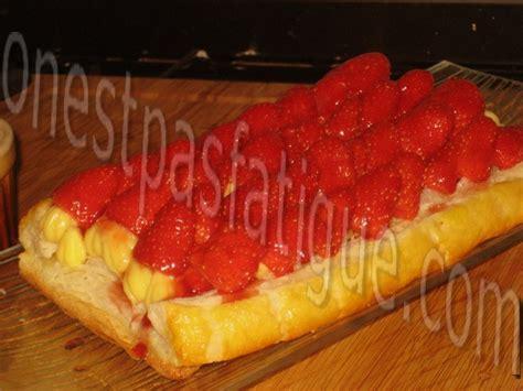 tarte feuillet 233 e aux fraises onestpasfatigue